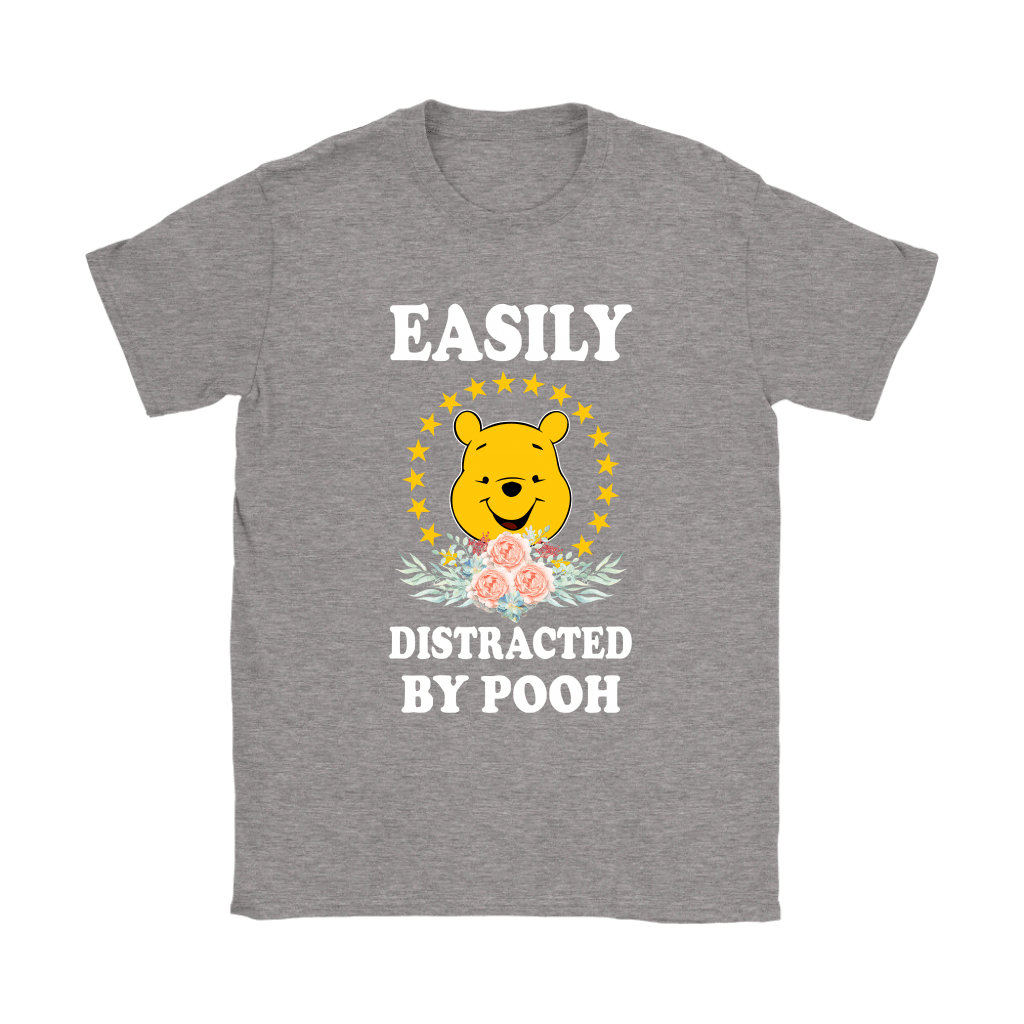Easily Distracted By Winnie The Pooh Shirts 13