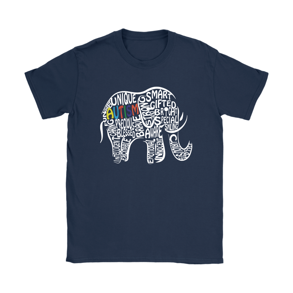 Elephant Autism Let Them Fit In Here With Us Shirts 7