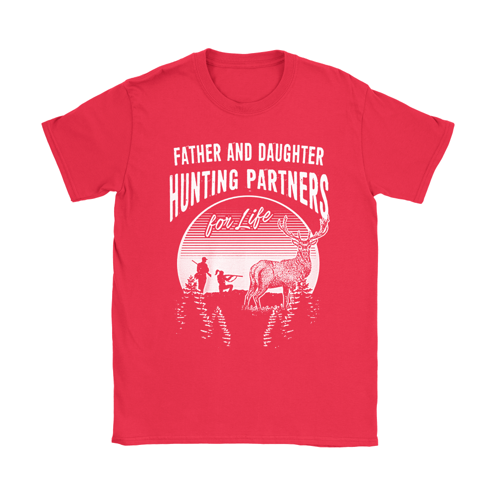 Father And Daughter Hunting Partners For Life Family Shirts 11
