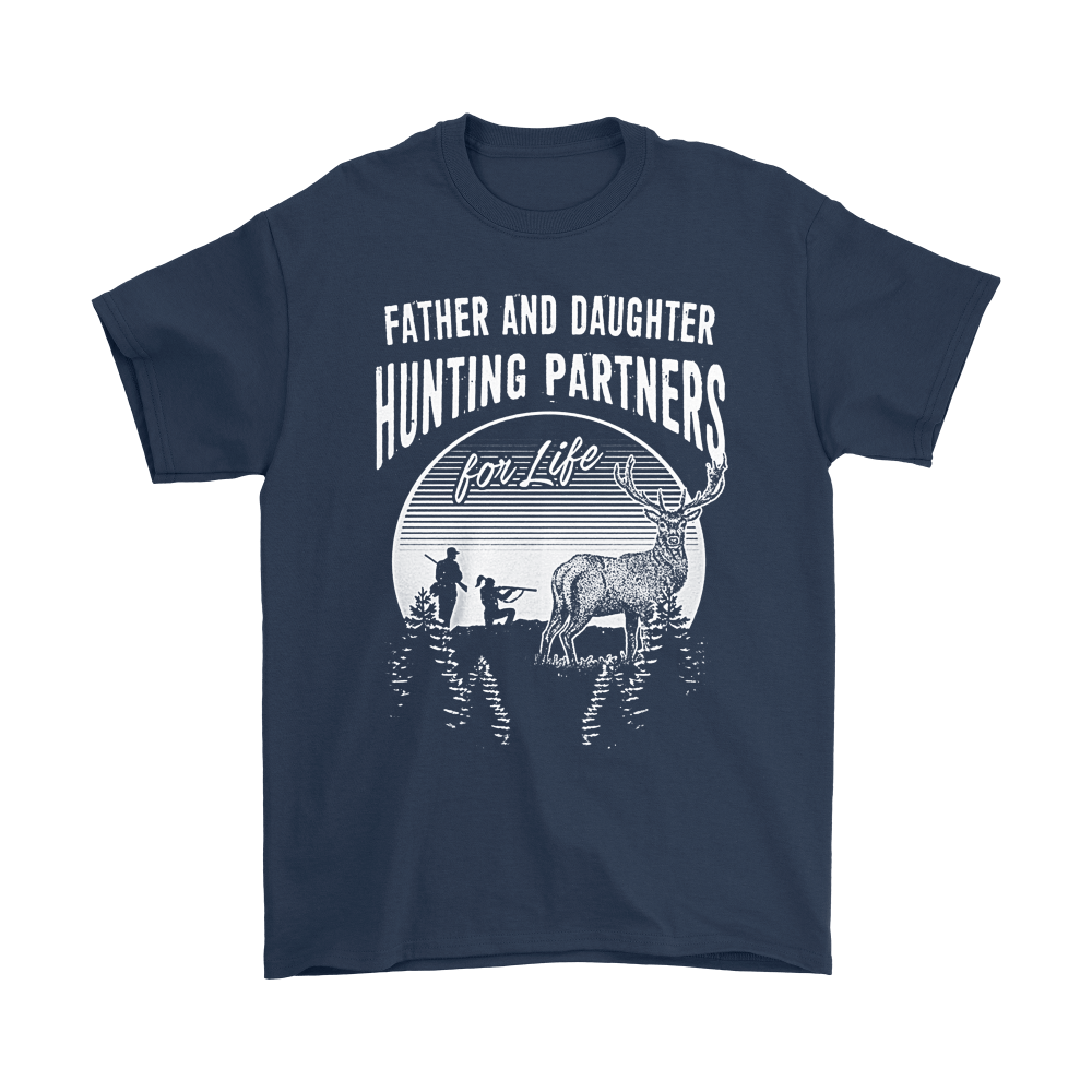 Father And Daughter Hunting Partners For Life Family Shirts 3