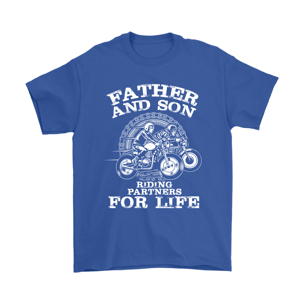 Father And Son Riding Partners For Life Shirts 5