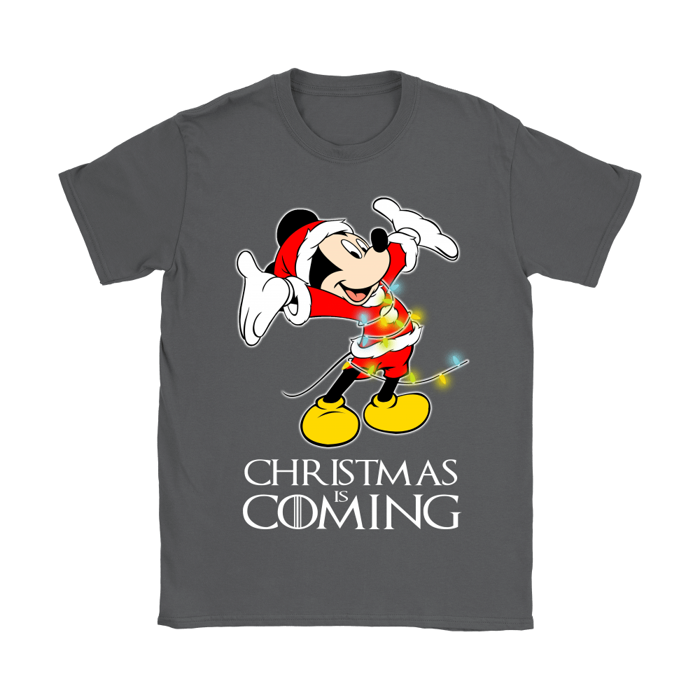 Game Of Thrones Christmas Is Coming Disney Mickey Shirts 10