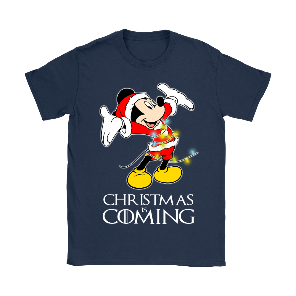 Game Of Thrones Christmas Is Coming Disney Mickey Shirts 11