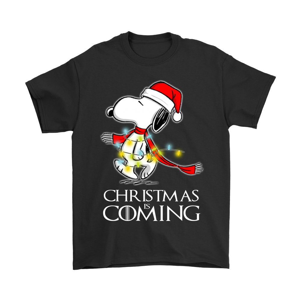 Game Of Thrones Christmas Is Coming Snoopy Shirts 1