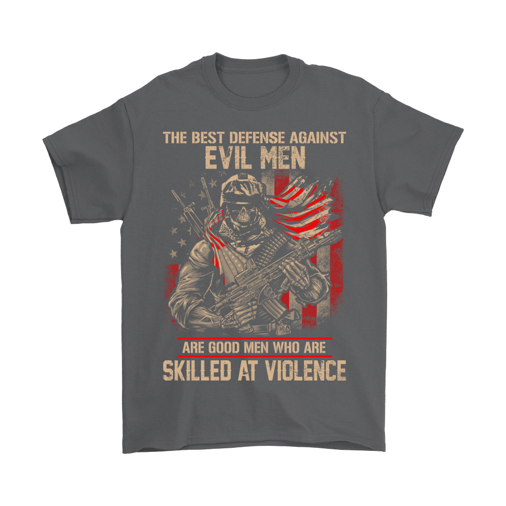 Good Men Who Are Skilled At Violence US Army Veterans Day Shirts 9