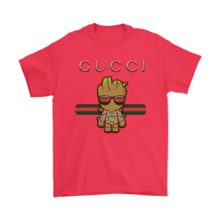 Gucci Guardians Of The Galaxy Baby Groot Shirts 18