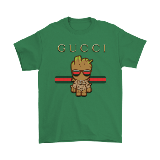 Gucci Guardians Of The Galaxy Baby Groot Shirts 7