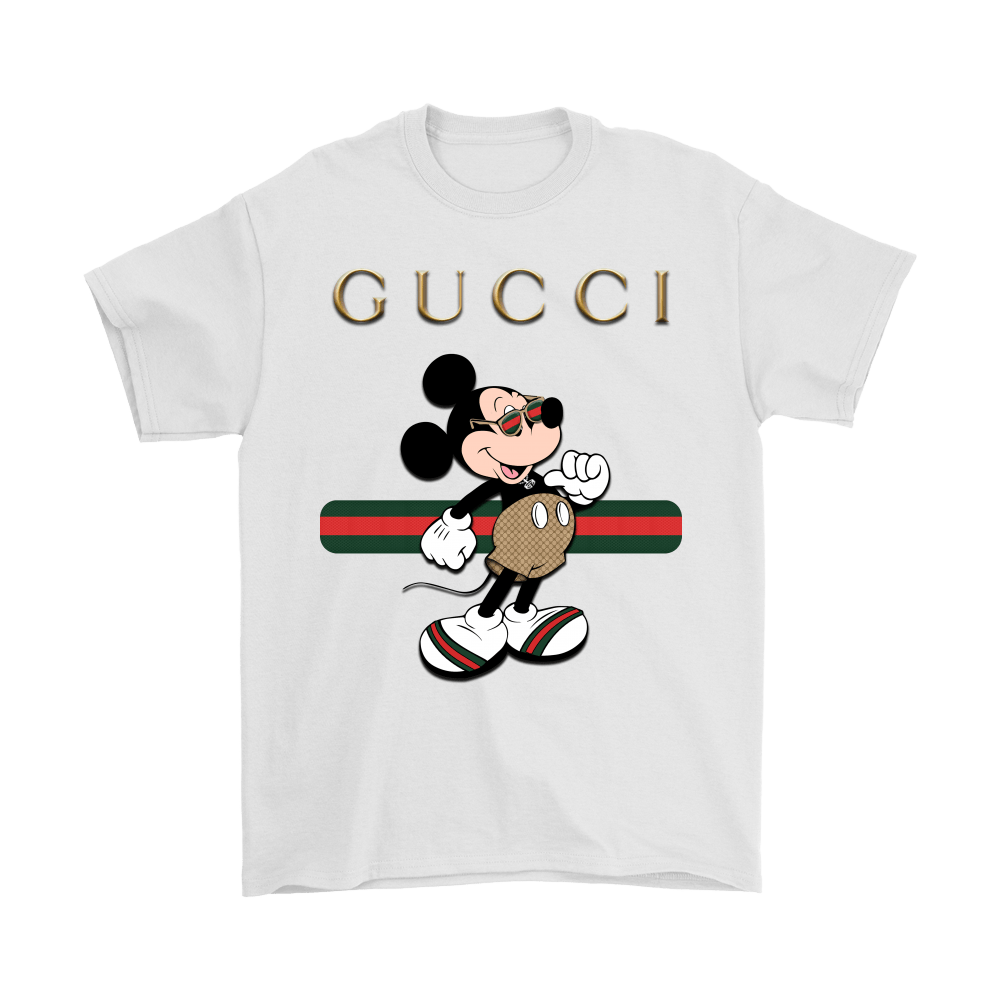 1800b8277 Gucci Stripe Mickey Mouse Stay Stylish Shirts - Teeqq Store