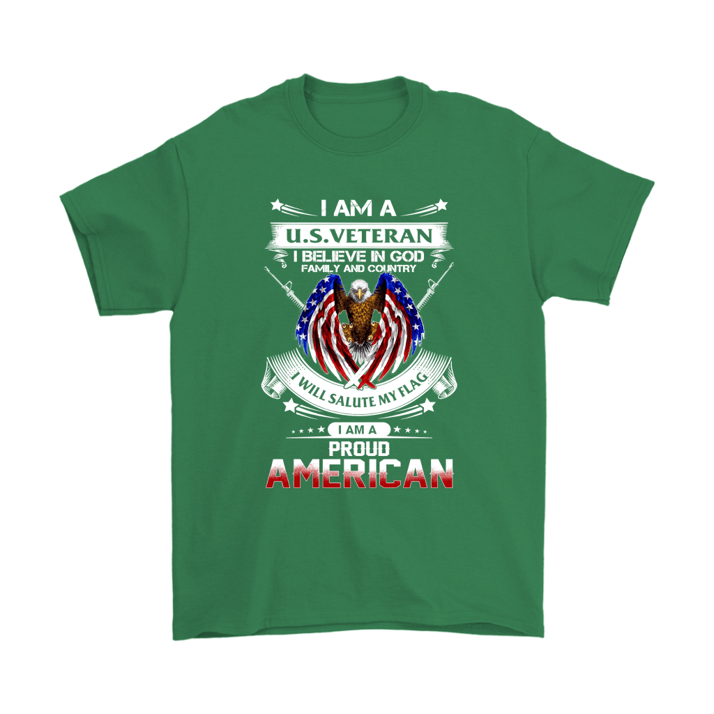 I Am A U.S. Veteran American I Believe In God Shirts 17