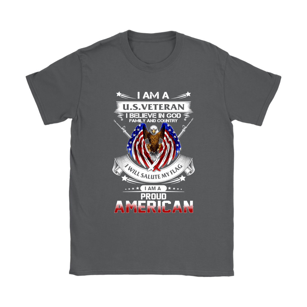 I Am A U.S. Veteran American I Believe In God Shirts 8