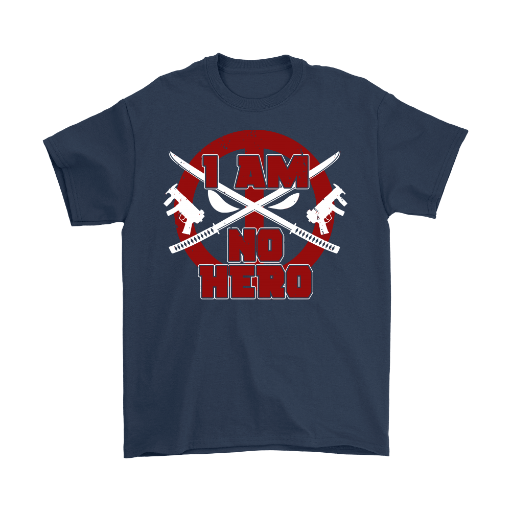 I Am No Hero Antihero Deadpool Shirts 2