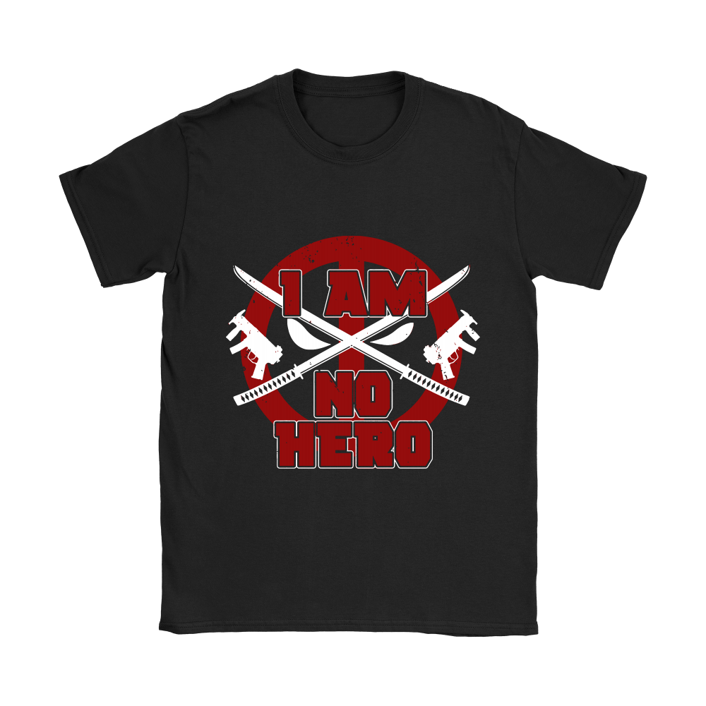I Am No Hero Antihero Deadpool Shirts 4