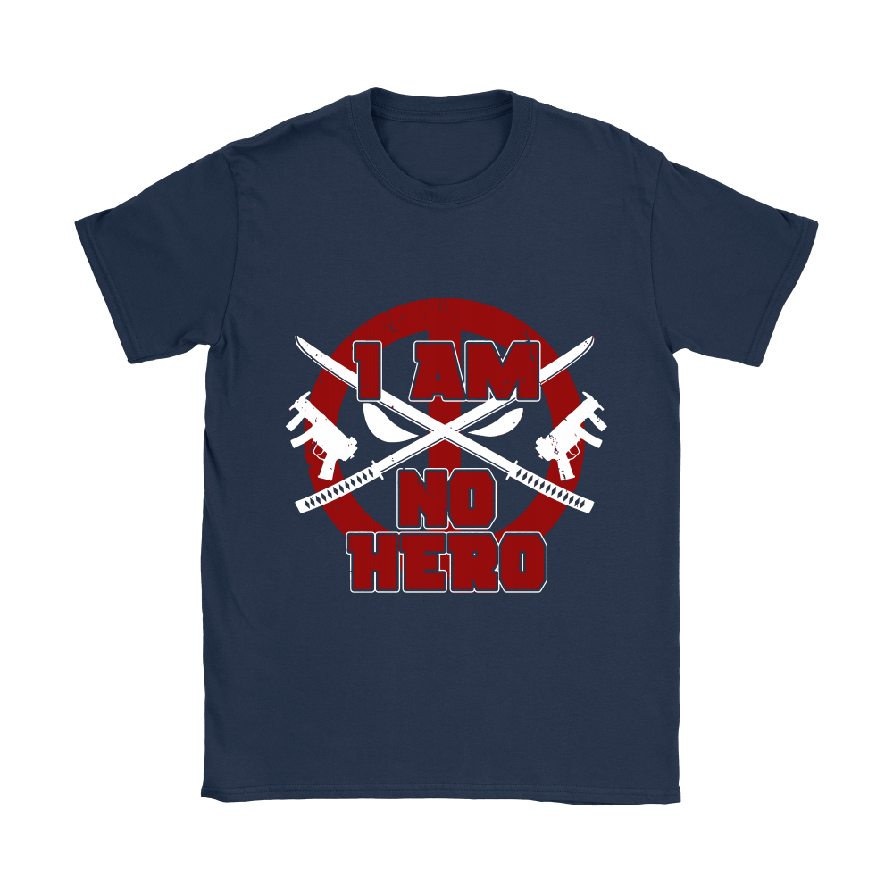 I Am No Hero Antihero Deadpool Shirts 5