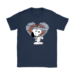 I Love Chicago Bears Snoopy In My Heart NFL Shirts 20