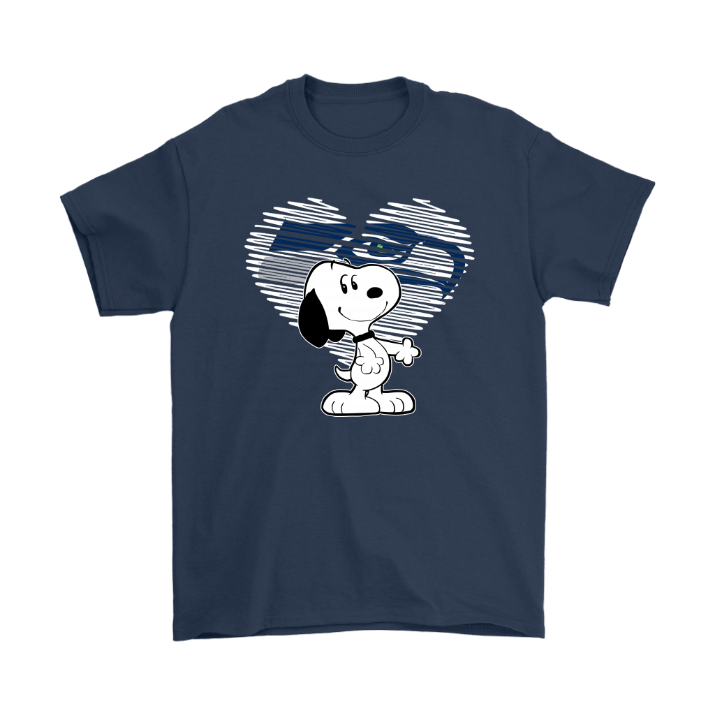 I Love Seattle Seahawks Snoopy In My Heart NFL Shirts 14