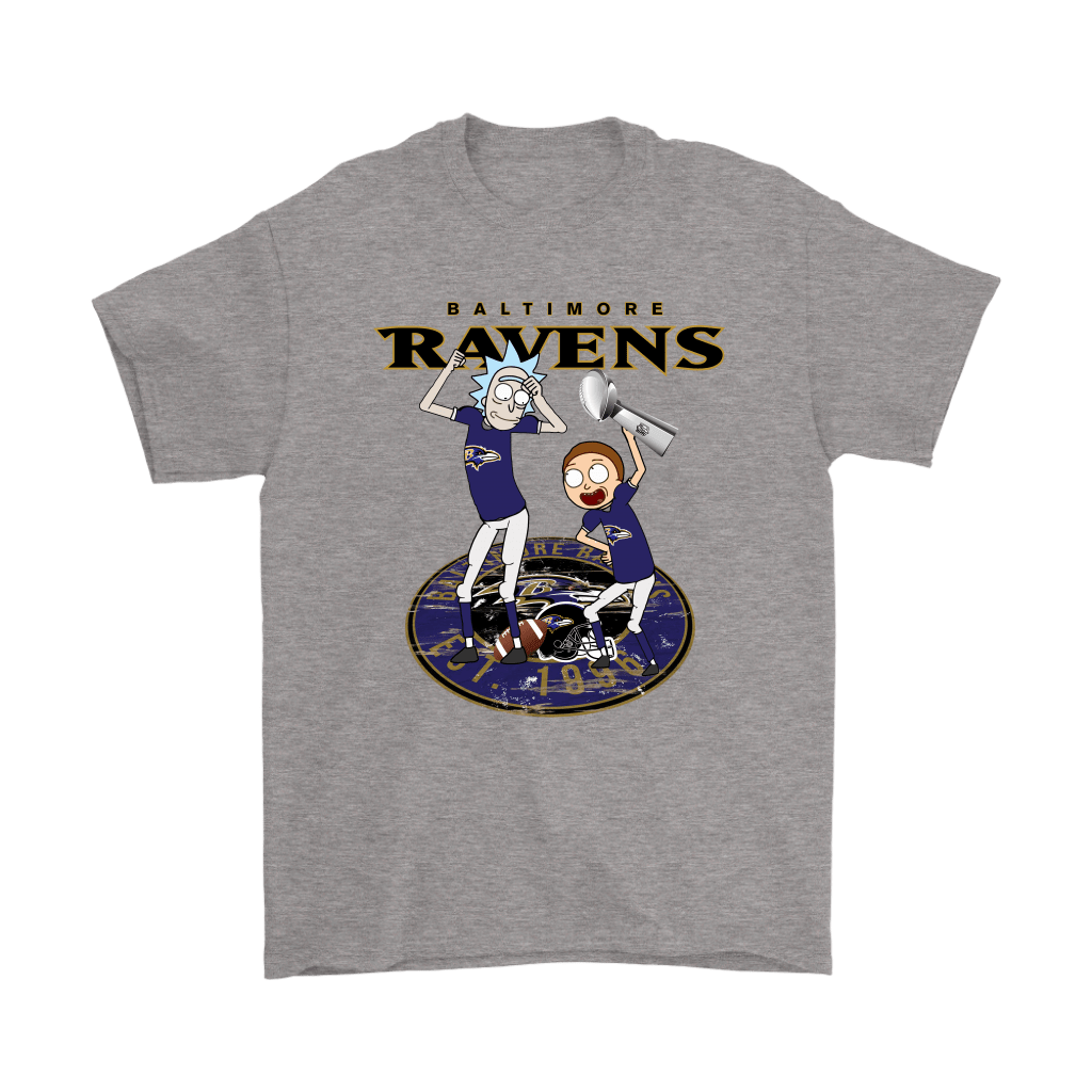I Turned Myself Into A Baltimore Fan Morty, I'm Raven Rick Shirts 6
