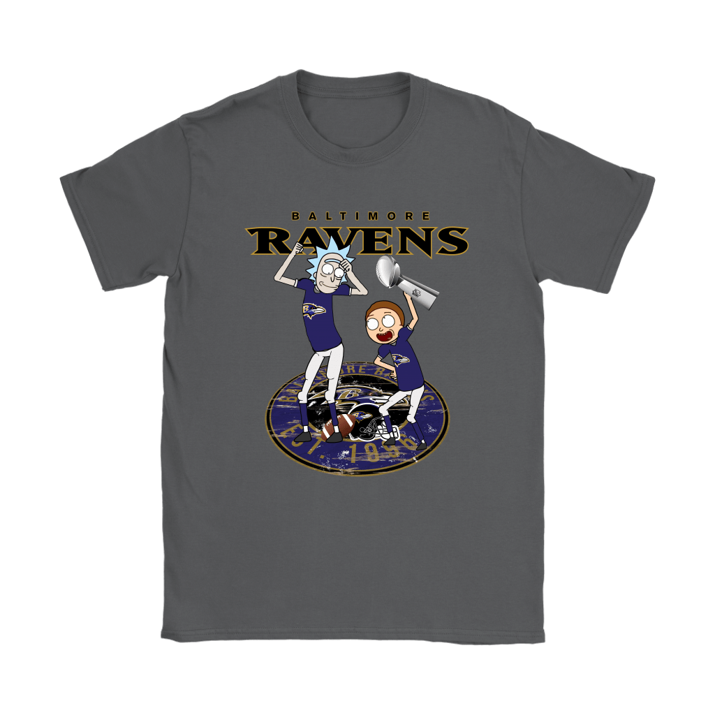 I Turned Myself Into A Baltimore Fan Morty, I'm Raven Rick Shirts 9