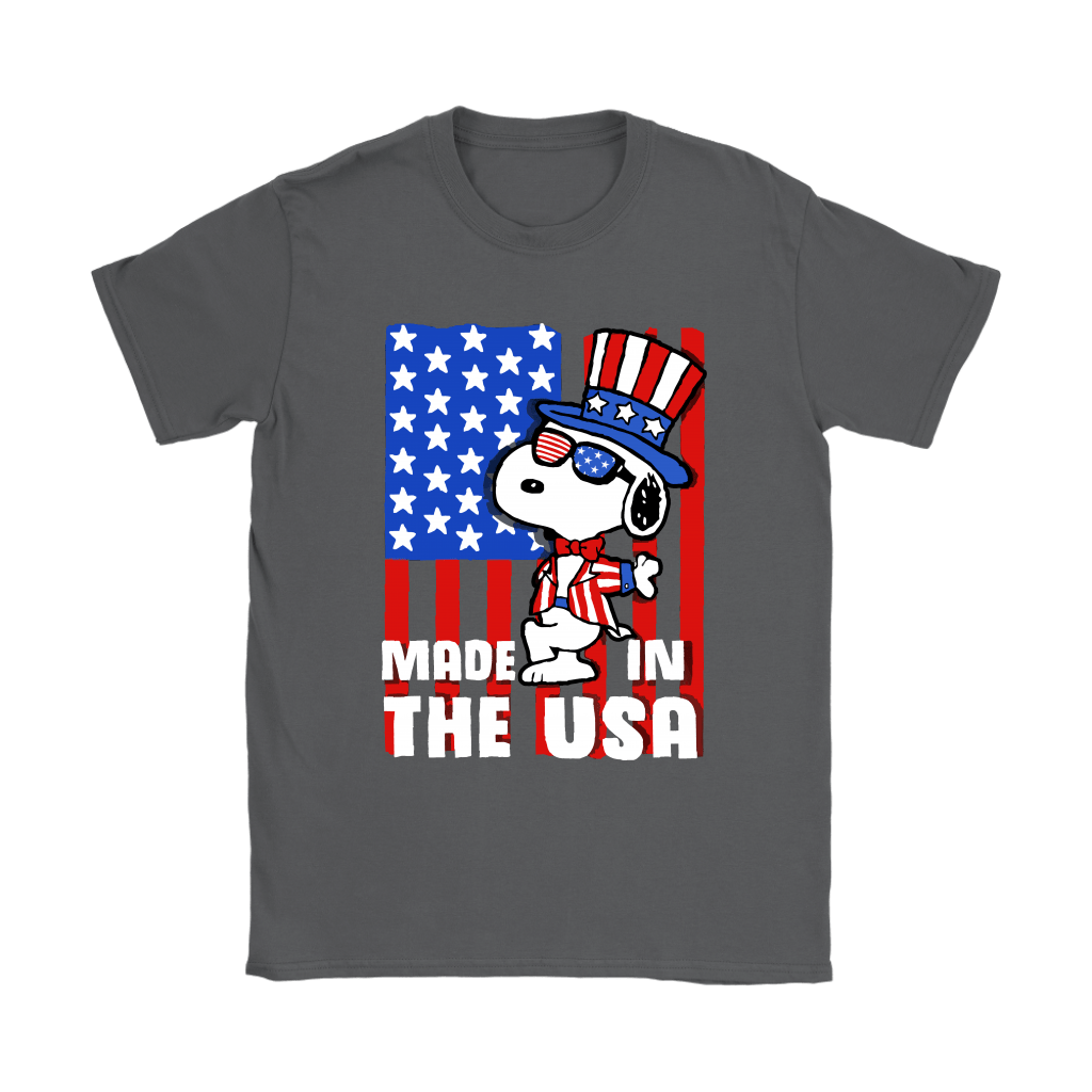 Joe Cool Made In The USA Independence Day 4th Of July Snoopy Shirts 8