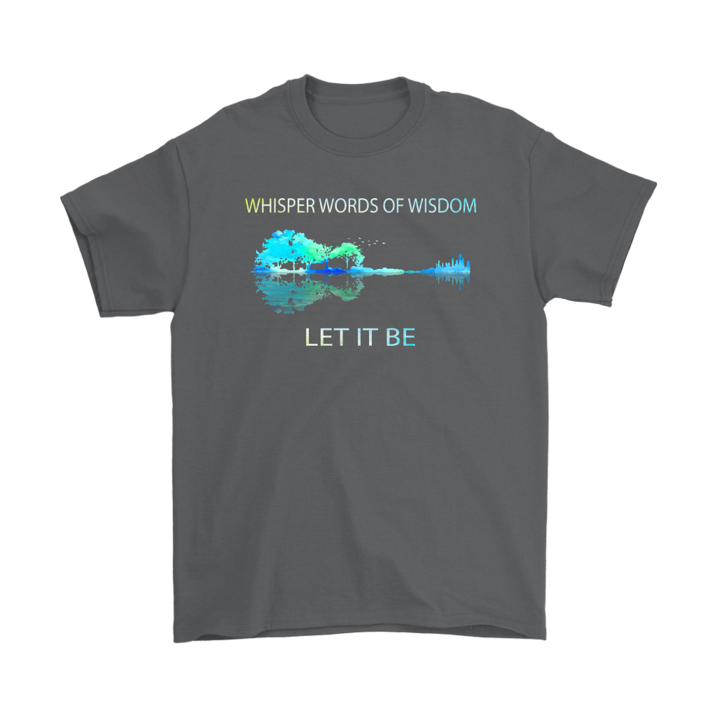 Let It Be The Beatles Guitar Forest Reflection Shirts 2