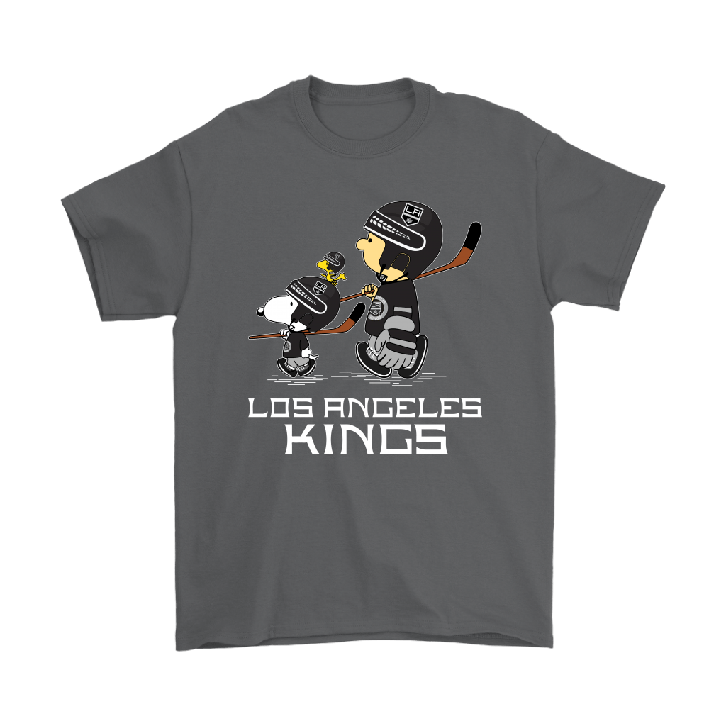 Let's Play Los Angeles Kings Ice Hockey Snoopy NHL Shirts 2