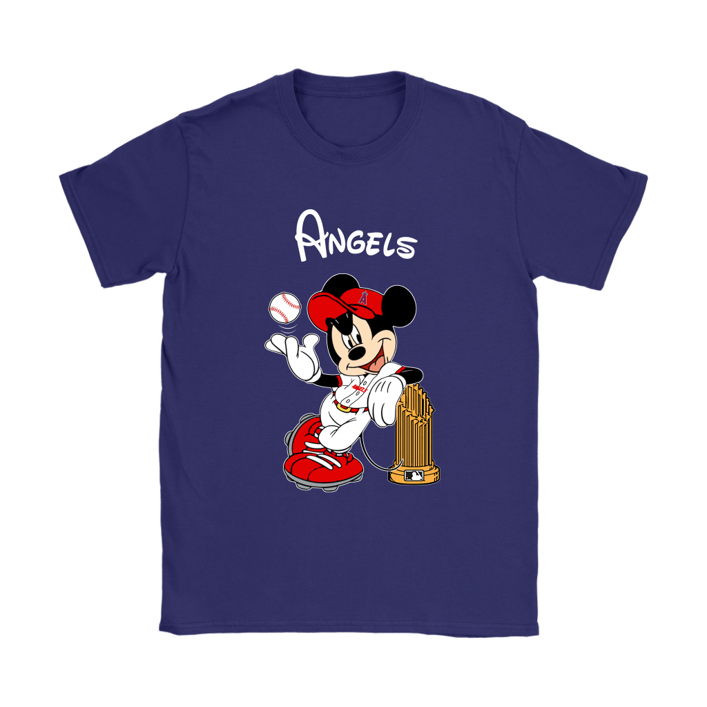 Los Angeles Angels Mickey Taking The Trophy MLB 2018 Shirts 11