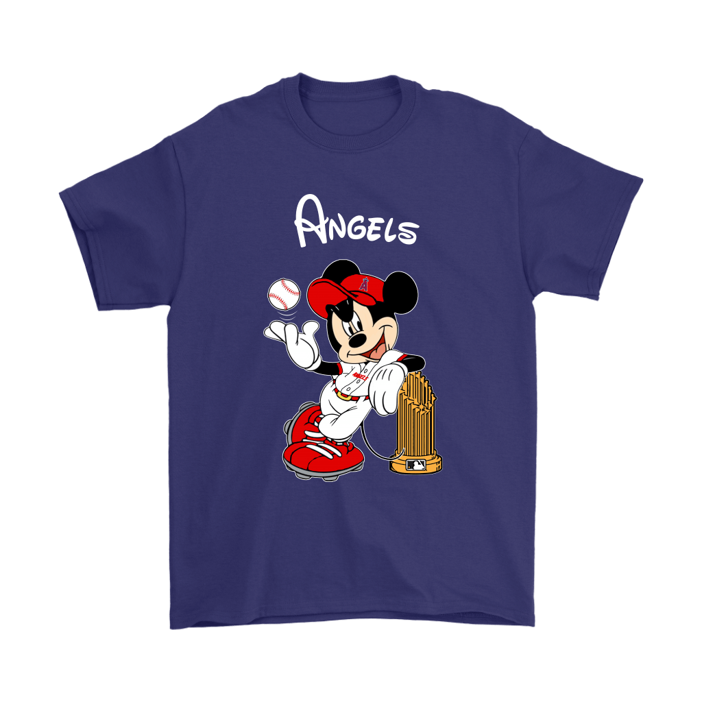 Los Angeles Angels Mickey Taking The Trophy MLB 2018 Shirts 4
