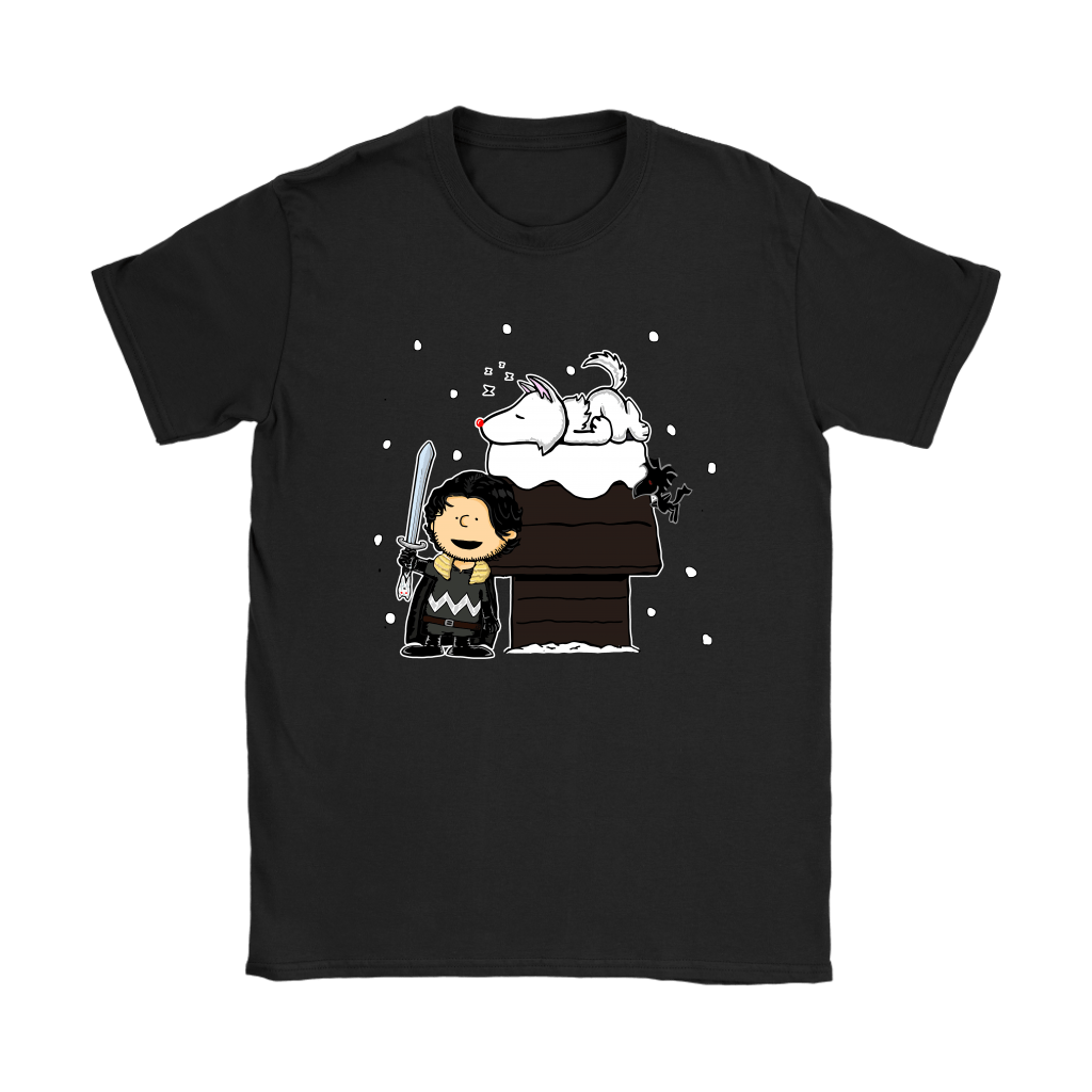 Charlie Snow Game Of Thrones Mashup Snoopy Shirts 6