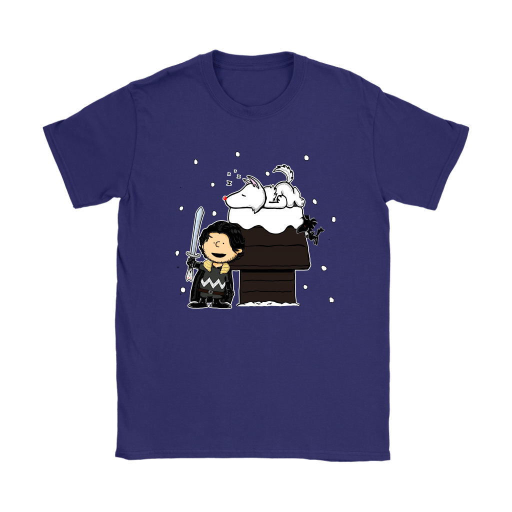 Charlie Snow Game Of Thrones Mashup Snoopy Shirts 9