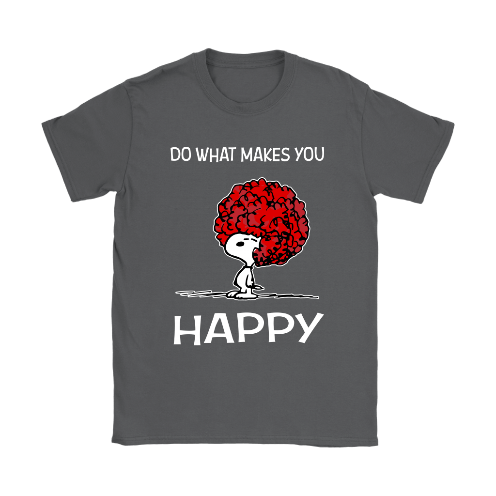 Do What Makes You Happy Snoopy Shirts 8