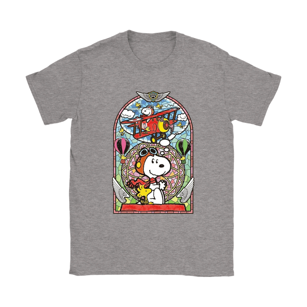 Dream Big World War Red Baron Flying Ace Snoopy Shirts 10