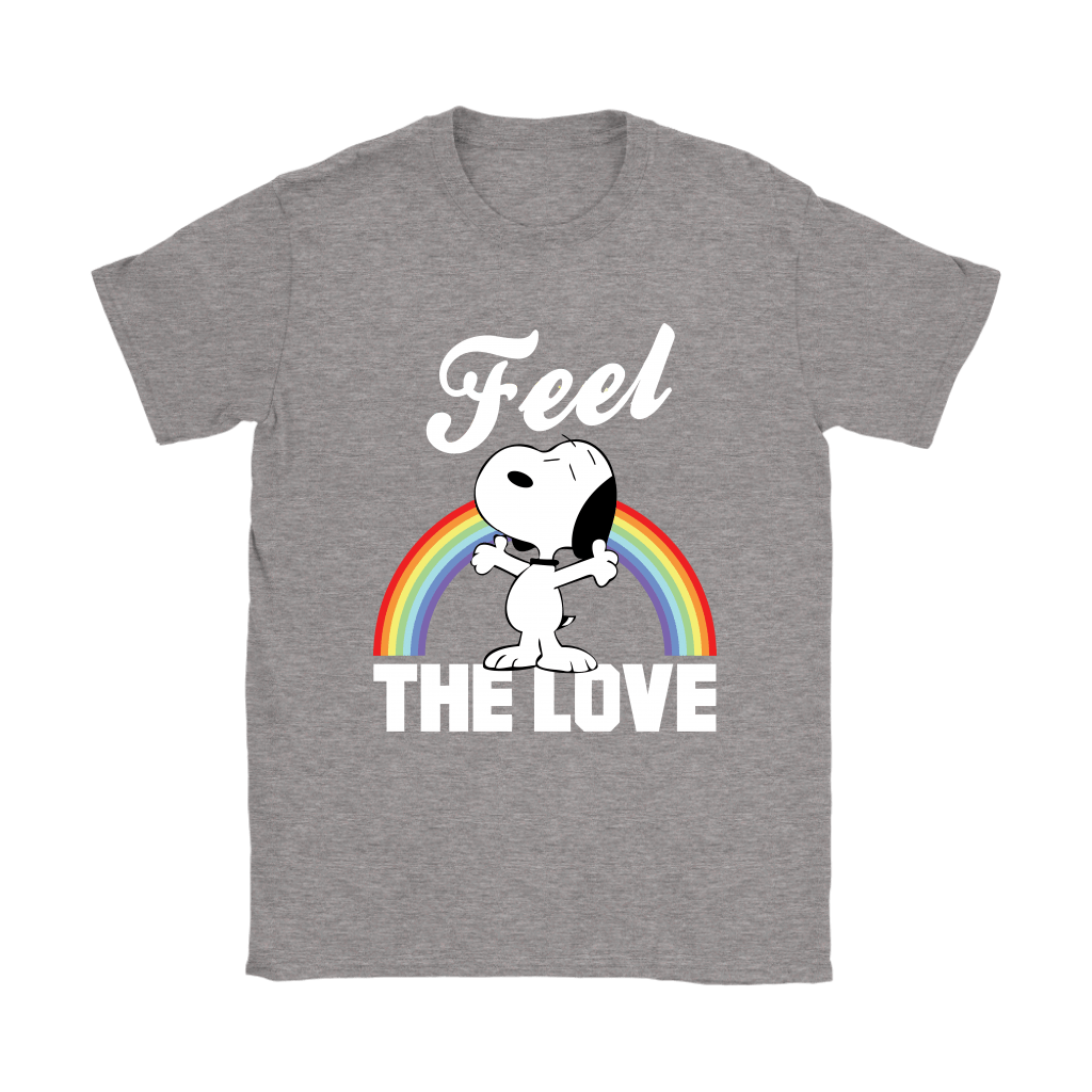 Feel The Love Snoopy Shirts 13