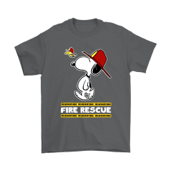 Firefighter Fire Rescue Woodstock Snoopy Shirts 15