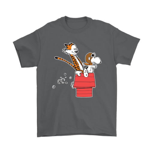 Flying Ace Hobbes And Snoopy Shirts 2