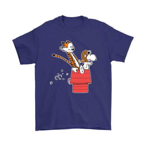 Flying Ace Hobbes And Snoopy Shirts 4