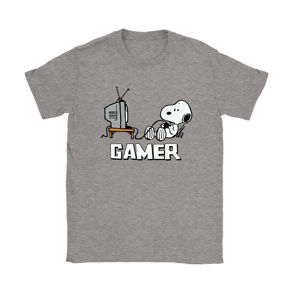 Gamer Life Snoopy Shirts 13