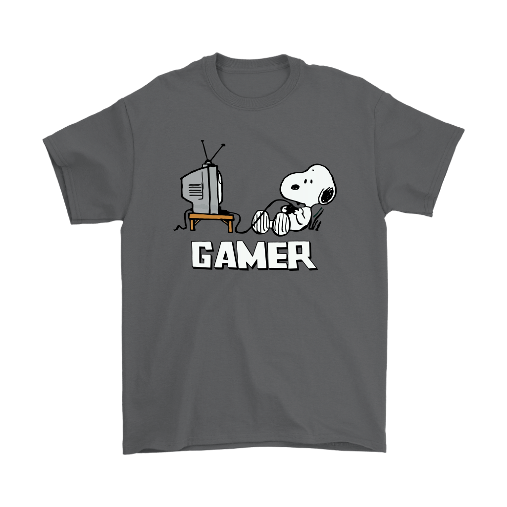 Gamer Life Snoopy Shirts 2