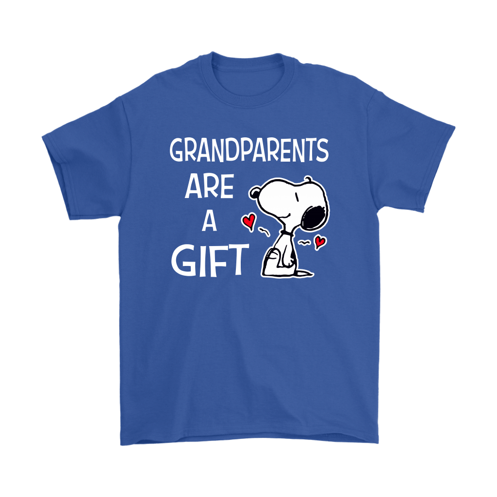 Grandparents Are A Gift Snoopy Shirts 5