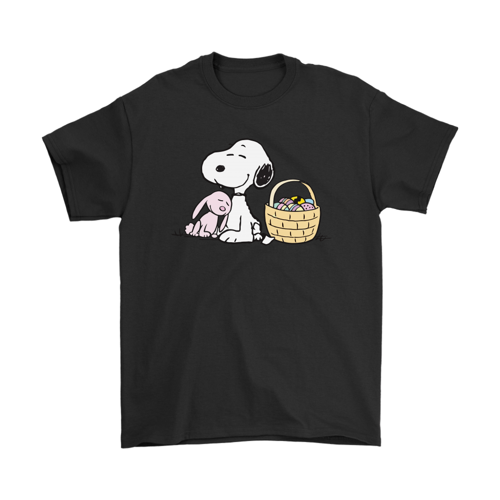 Happy Easter Beagle And Bunny Snoopy Shirts 1