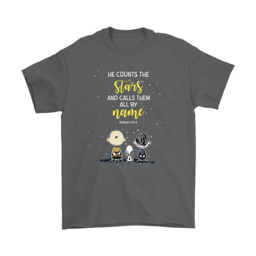 He Counts The Stars And Calls Them All By Name Snoopy Shirts 2