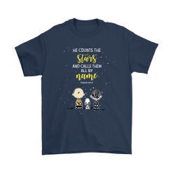 He Counts The Stars And Calls Them All By Name Snoopy Shirts 10
