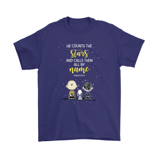 He Counts The Stars And Calls Them All By Name Snoopy Shirts 4
