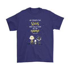 He Counts The Stars And Calls Them All By Name Snoopy Shirts 11