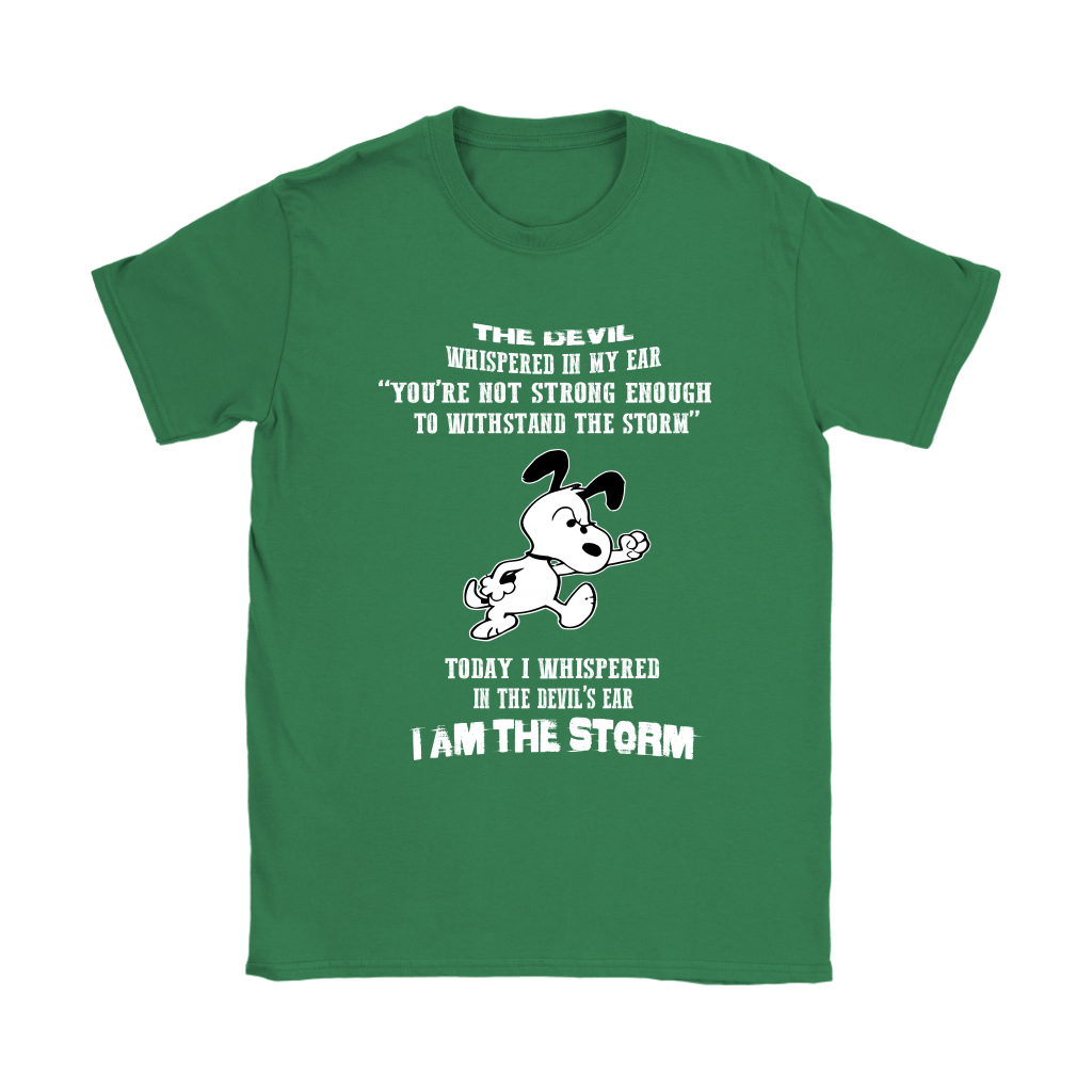I Am The Storm Snoopy Shirts 12