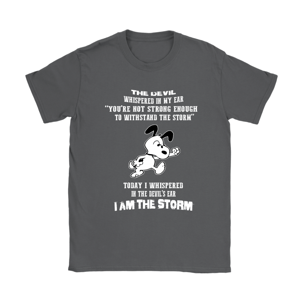 I Am The Storm Snoopy Shirts 8