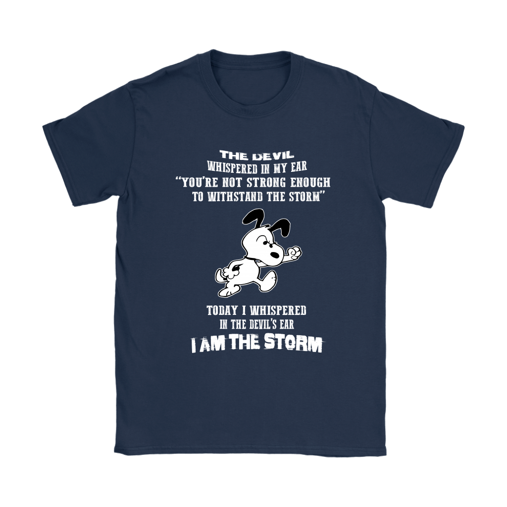 I Am The Storm Snoopy Shirts 9