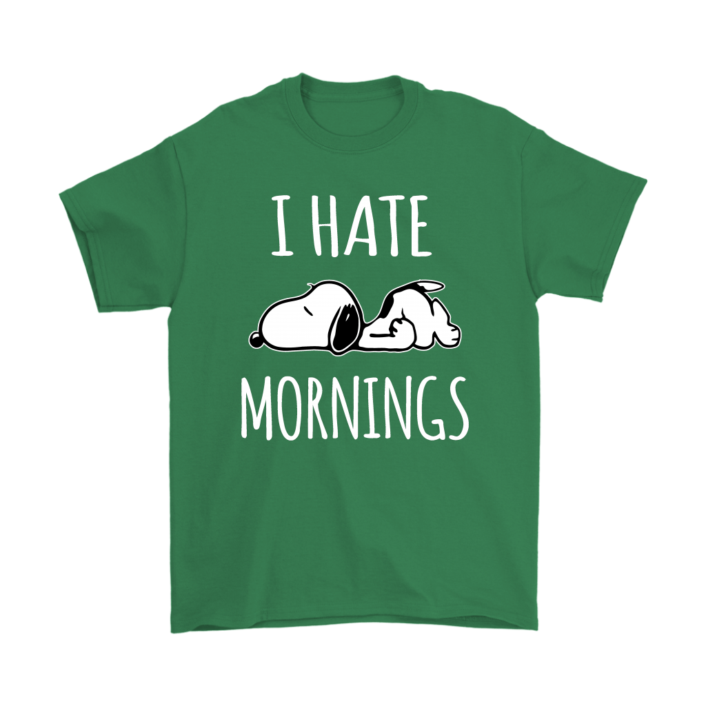 I Hate Morning Tired Snoopy Shirts 7