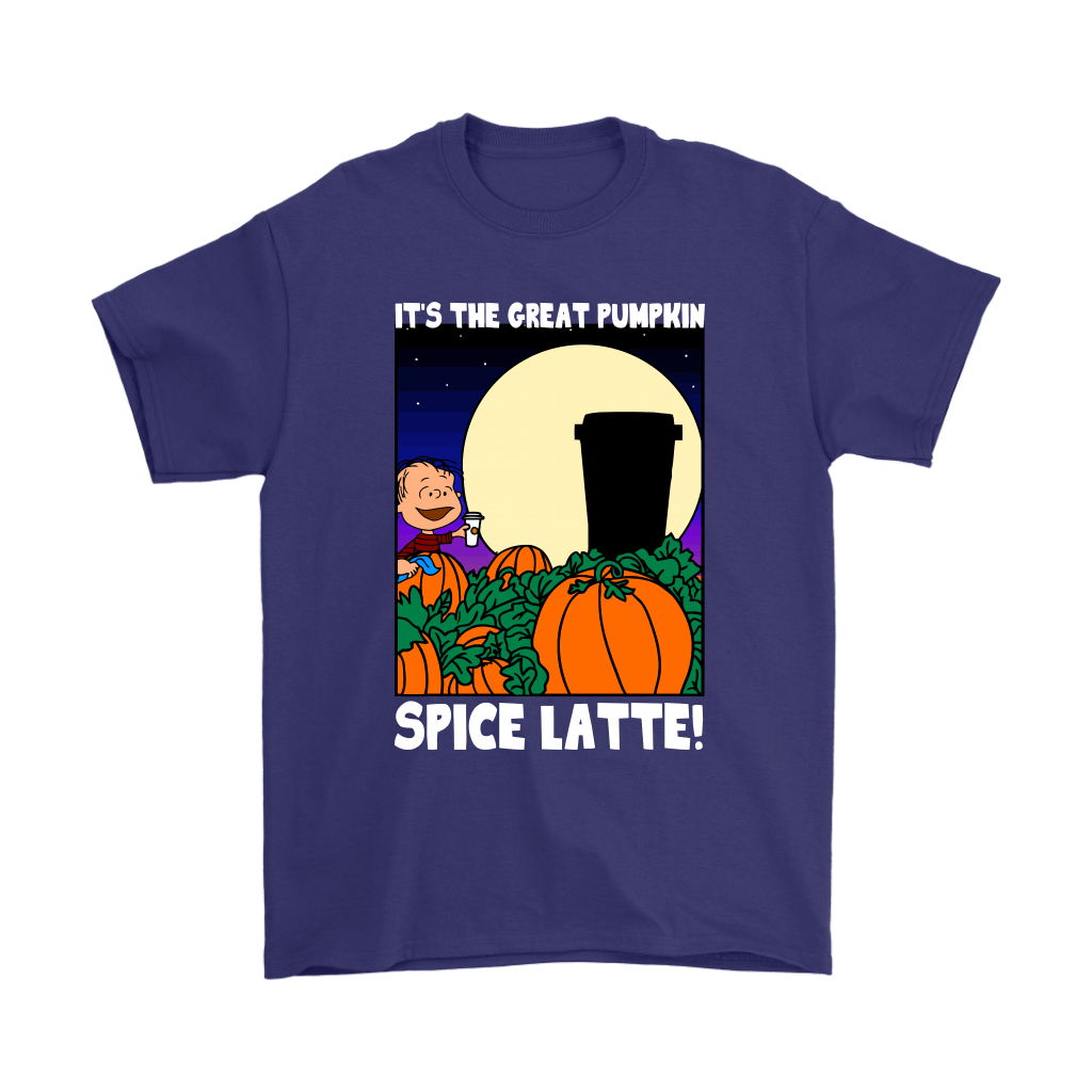 It's The Great Pumpkin Spice Latte Happy Halloween Snoopy Shirts 4