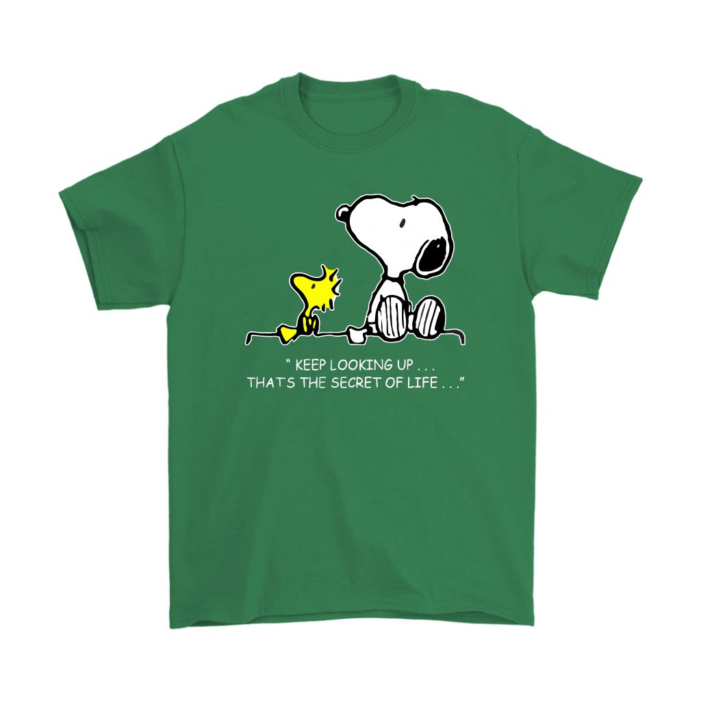 Keep Looking Up Thats The Secret Of Life Snoopy Shirts 7