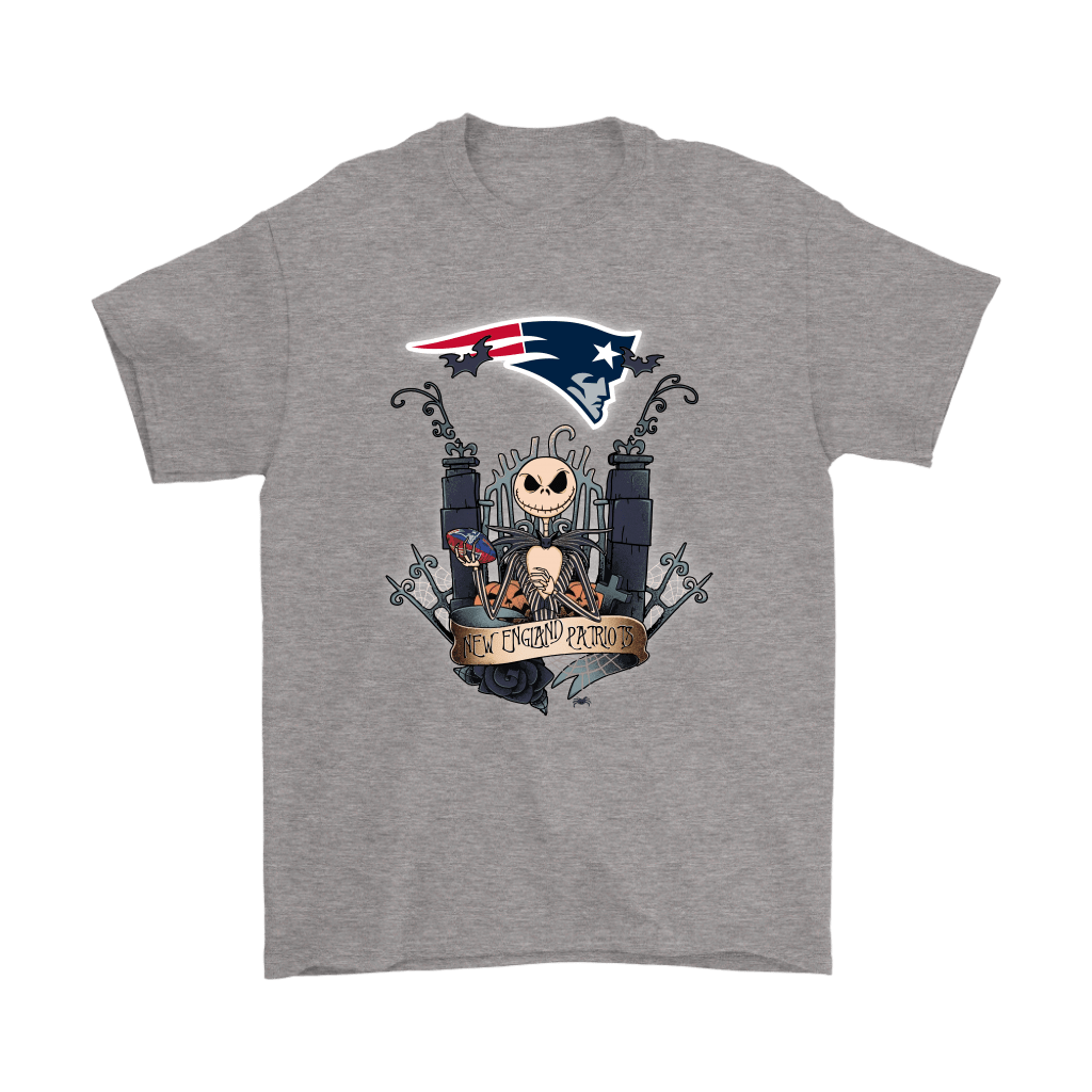 New England Patriots Jack Skellington This Is Halloween NFL Shirts 6