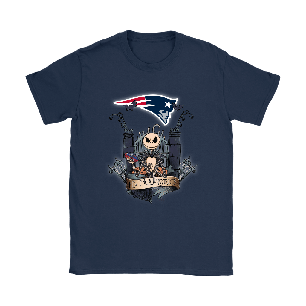 New England Patriots Jack Skellington This Is Halloween NFL Shirts 9